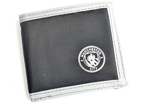 Manchester City FC Canvas Portemonnee Zwart Cadeau-idee