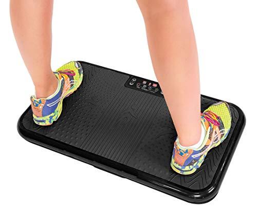 Mediashop VibroShaper – Fitness Vibrationsplatte bringt den Körper in Form – Vibrationstrainer für unterschiedliche Muskelgruppen | Das Original aus dem TV (VibroShaper schwarz)