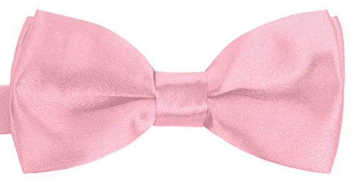 rosane kinder-fliege einsteck-tuch hosen-träger set kostüm baby rosa rose