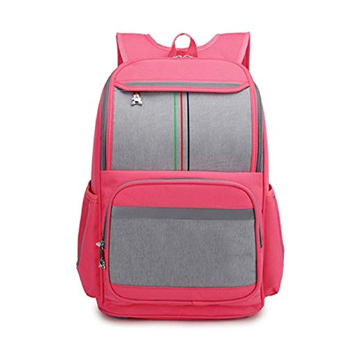 JenLn Mochila para niños Bolsas de Escuela Primaria Kindergarten Middle School Bookbags Lightweight Durable Girls Boys Regalo (Color : Watermelon Red, Size : 30x17x40cm)