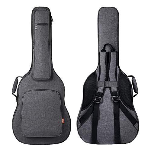 Bolsas Guitarra Acústica Impermeables 41 Pulgadas Bolsa De Guitarra Eléctrica Acolchada 0,8 Pulgadas Correa De Hombro Ajustable Doble Para Bajos Estuches De Guitarra Clásica
