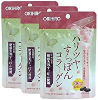 オリヒロ ハリツヤすっぽんコラーゲン【3袋セット】