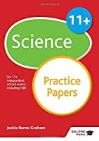 11+ Science Practice Papers by Jackie Barns-Graham(2016-04-29)