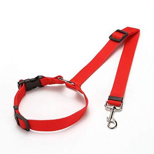 MYYXGS Correa para Perros, Suministros para Mascotas, ArnéS De CinturóN De Seguridad Ajustable Universal PráCtico para Perros Y Gatos, Correa para CinturóN De Seguridad para Cachorros