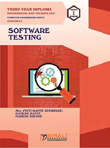 SOFTWARE TESTING - THIRD YEAR DIPLOMA IN COMPUTER ENGG GROUP - SEMESTER 5