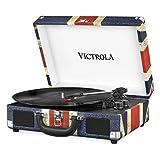 Victrola Suitcase Platine Vinyle Mallette Vintage Bluetooth - UK Flag