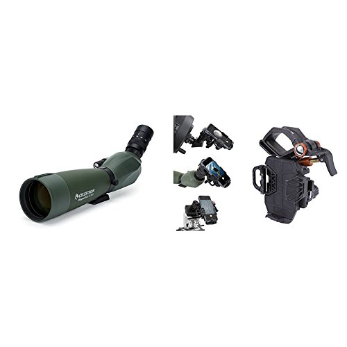 Cheapest Price! Celestron Regal M2 80ED Spotting Scope with Smartphone Adapter – Fully Multi-Coate...