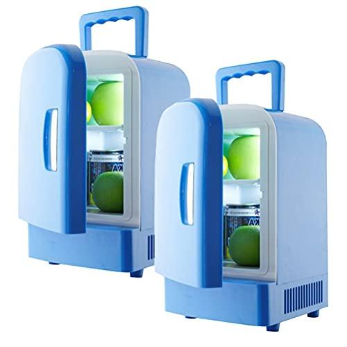 outingStarcase 4L Refrigerador de coches Automoville Mini Frigorífico Refrigeradores Congelador Caja de enfriamiento FrigoBar Alimento Fruta Almacenamiento Frigorífico Compresor