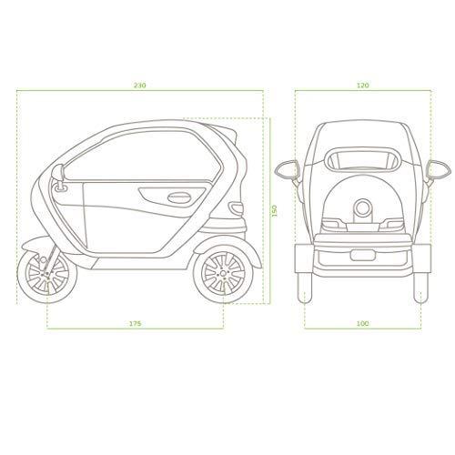 Elektromobil mit Dach für 2 Personen Bild 4*