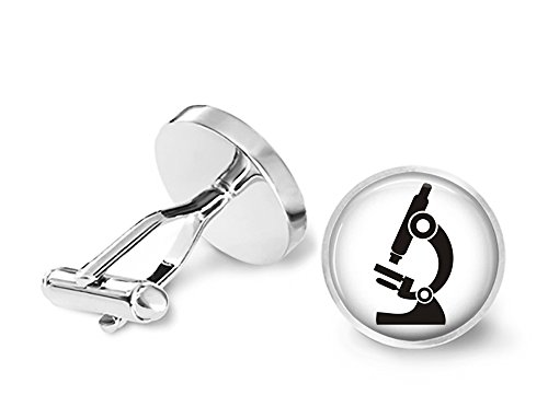 Microscope Cufflinks Scientist Cuff Links
