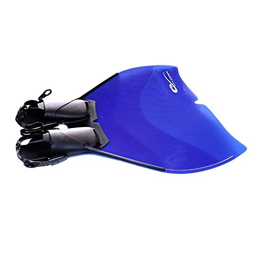 Sommap - Adjustable Monofin - Size 7/10 US - Color: Aqua Blue