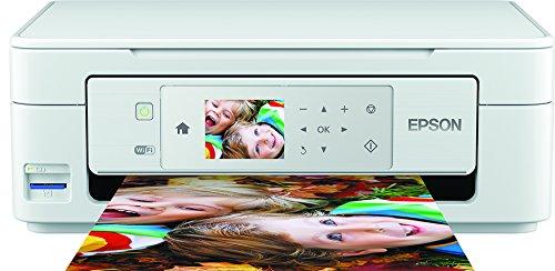 Epson Expression Home XP-445 3-in-1 Tintenstrahl-Multifunktionsgerät (Drucker, Scanner, Kopierer, WiFi, Duplex, Einzelpatronen) weiß