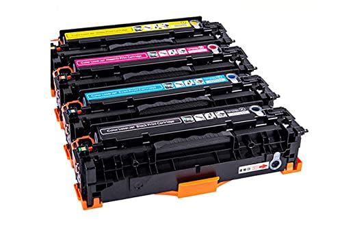 REMANUFACTURTED 305X 305A CE410X CE410A CE411A CE412A CE413A (Paquete de 4, 1Black 1Yan 1Magenta 1yLew) Reemplazo de tóner para HP H Laserjet Enterprise 300 Color M351 Laserjet 300 400 Color M375NW