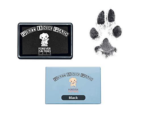 Forever Fun Times Kit de impresión de Patas de Mascota de fácil Limpieza | Consiga Cientos de Impresiones con un Solo Kit de impresión de Patas de bajo Coste | Almohadilla de impresión de Patas