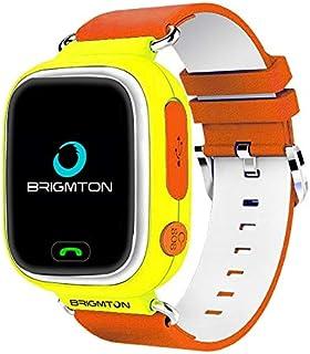 Brigmton BWATCH-Kids SmartWatch GPS, Naranja