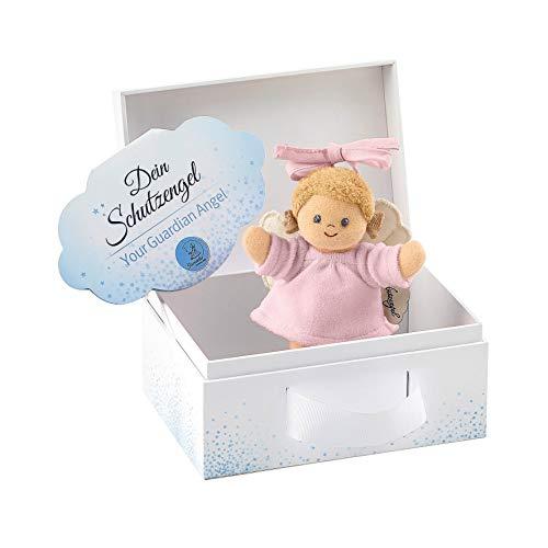 Sterntaler 6651896 Spielzeug zum Aufhängen mit Band, Schutzengel für Mädchen, Alter: Für Babys ab der Geburt, Rosa