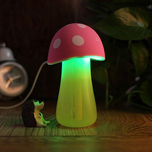 Creative mignon champignons Décoration/Veilleuse/Humidifier-rose 1