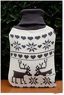 Warmwaterkruik, cadeauset, hals, taille, benen, buik, verjaardag, beste cadeaus voor geliefden, ouders en kinderen, zwart ...
