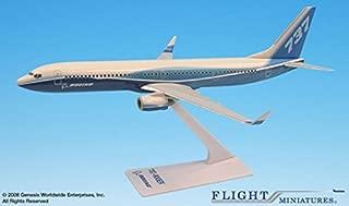Flight Miniatures Snap-Fit Airliners Boeing 737-900ER Dreamliner Colors (1:200)