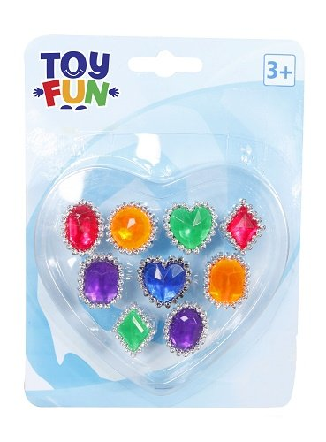 Toy Fun Fingerringe 9 verschiedene