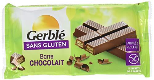 Gerblé Barres Chocolat sans Gluten 107,5 g