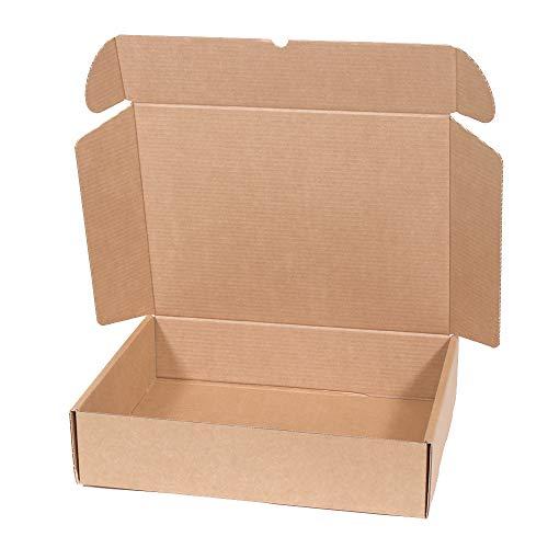Kartox | Caja de Cartón Kraft Para Envío Postal | Caja de Cartón Automático para Envío o Almacenaje | Talla XL | 42 X 30 X 10 | 20 Unidades