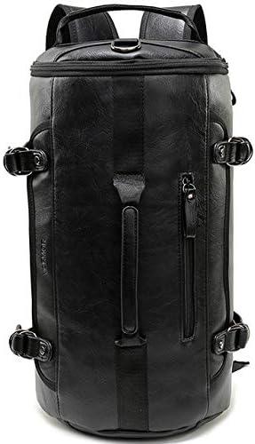 QOHNK Canvas Backpack Men Solid Travel Bags Mochila Masculina Bolsa School Bag Material Escolar Laptop Notebook Backpacks Rucksack