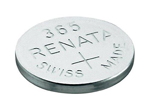 Uhrenbatterie Renata Swiss Made Renata 365 oder SR1116SW 1.5V schnellen Versand (1 x 365 oder SR 1116 SW)