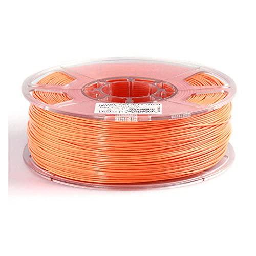 3D-Druckverbrauchsmaterialien, PLA ABS HIPPS 1.75 3.0mm 3D-Drucker-Verbrauchsmaterial, 3D-Druckerfilament, 3DPLA-Kohlefaserfilament-Orange