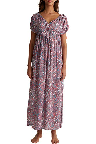 ESPRIT Maxi-Kleid mit Paisley-Print