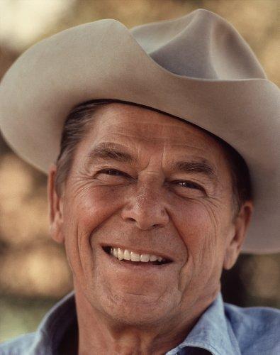 Ronald Reagan Cowboy Photo Photos 8x10