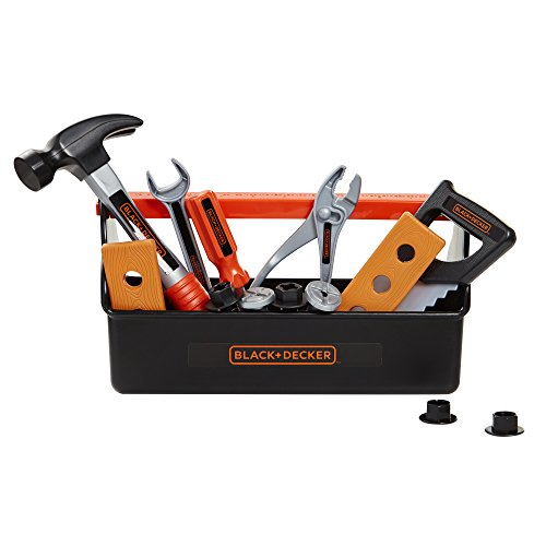 BLACK+DECKER Jr. My First Tool Box - 15 Piece Set