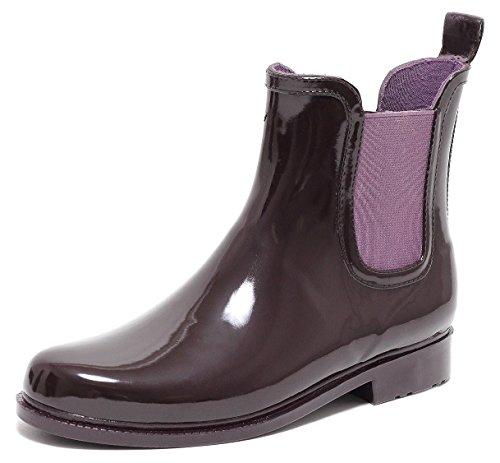 Zapato Chelsea Rain Boot Regenstiefelette Gummistiefelette Regenstiefel Gummistiefel Reitstiefelette Stiefel Beere Gr.37–40 (38)