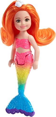 Barbie FKN05 Dreamtopia Mini-Meerjungfrau: Regenbogen-Chelsea