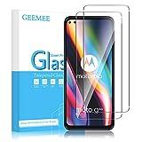 GEEMEE Protector de Pantalla para Motorola Moto g 5G Plus/Moto G100, Cristal Templado Película Vidrio Templado 9H Alta Definicion Glass Screen Protector Film Clear -2 Pack