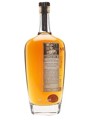 Masterson's 10 Jahre Straight Rye Whiskey 0,7 L