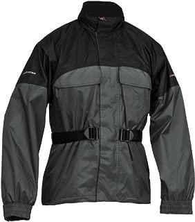 Firstgear Rainman Jacket (XXXX-LARGE) (BLACK/SILVER)