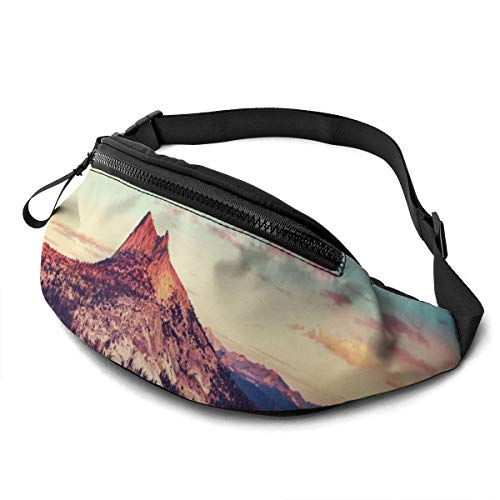 Gkf Waist Pack Bag for Men&Women, Beautiful Lake Utility Hip Pack Bag with Adjustable Strap for Workout Traveling Casual Running