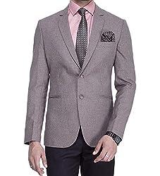 ManQ Mens Slim Fit Formal/Party Mens Blazer