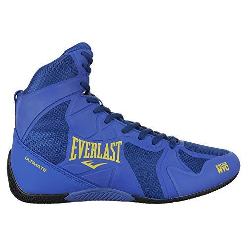 Everlast Ultimate Unisex-Erwachsenen Boxschuhe, Farbe: Blau, Größe: 42