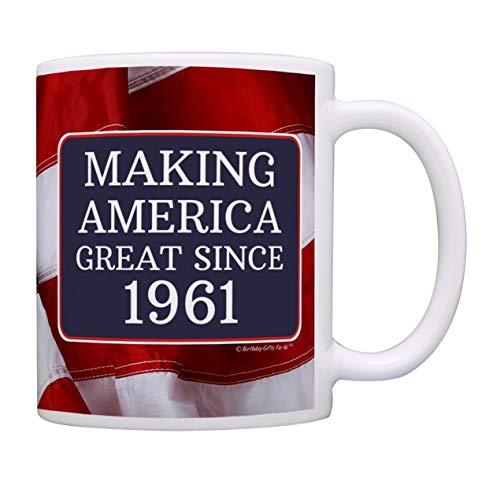 Geburtstag Geschenke für alle so Amerika Großartiges seit 1958Geschenk Kaffee Becher Tee Tasse usa-flagge