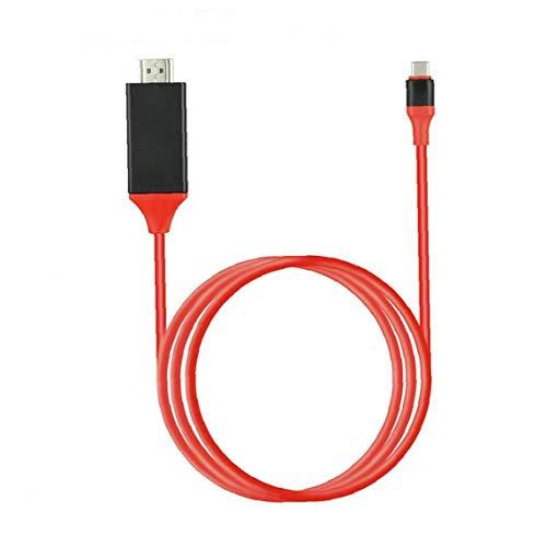 Tipo de Cable convertidor C a USB Cable HD TV HDTV Cable Adaptador de Alta Definición Extender Adaptador de Red para Android