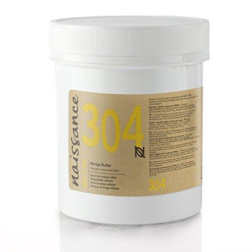 Naissance Burro di Mango Raffinato - Naturale al 100%, Vegano, senza OGM - 100g