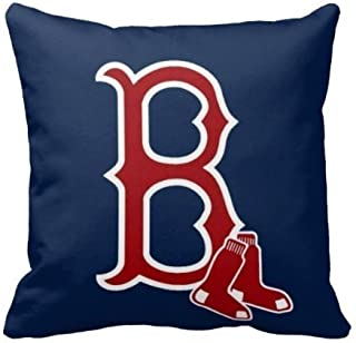 Touch Colourful 18 x 18 Inches AliHogbenStore Boton Red Sox Pillow Case Cushion Cover Home Sofa Decorative Squares