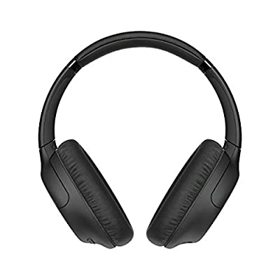 Sony WH-CH710N Noise Cancelling Wireless Headphones with 35 hours Battery Life, Quick Charge, Built-in Mic and Voice Assistant - Black by Sony