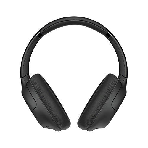 Sony WHCH710NB - Auriculares inalámbricos Noise Cancelling (Batería 35 h, Carga rápida, Llamadas Manos Libres, diseño Compacto Alrededor de la Oreja, óptimo para Trabajar en casa), Negro