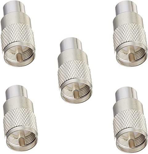 Piezas de repuesto para cortacésped Reemplace UHF / PL-259 Conector de coaxer...