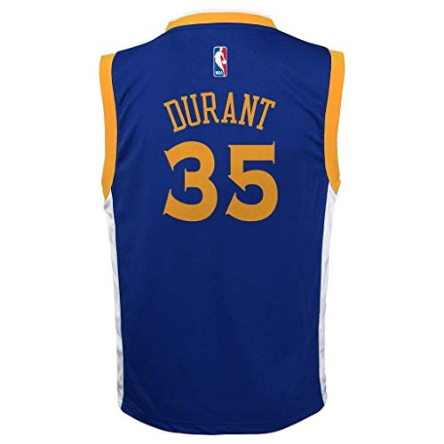 Kevin Durant Golden State Warriors #35 Blue Youth Road Replica Jersey (Small 8)