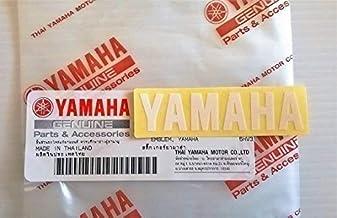 Motoneige Tout Nouveau 100/% Genuine Yamaha D/écalcomanie Auto-Adh/ésive Embl/ème Logo 100mm X 23mm Blanc Autocollant Moto Atv Jet Ski