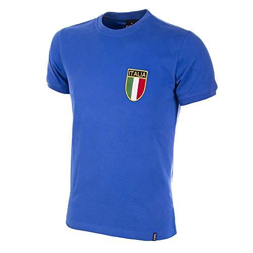 COPA Football - Camiseta Retro Italia años 1970 (M)